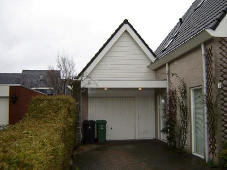 Bouwen Garage Kosten : Hout beton schutting verdieping op garage bouwen kosten